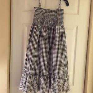 Tory Burch Gingham dress, brand new, no tags